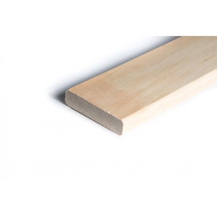 Полок из осины (6шт. 25*85) 1,7м