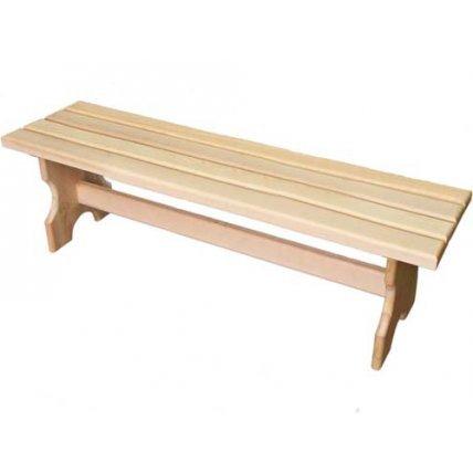 Скамейка без спинки хвоя 2,0м