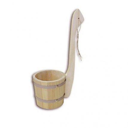 Ковш черпак с вертикальной ручкой 1,2л