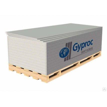 ЛГК GYPROC 2500*1200*12,5 гипсокартон