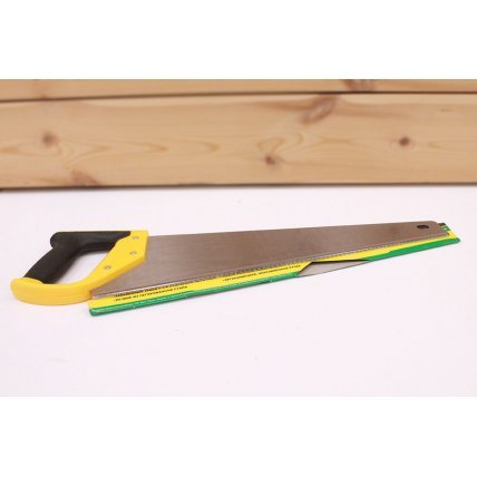 Ножовка по дер. крупный ЗУБ  3D-заточка каленая 450мм КЕДР