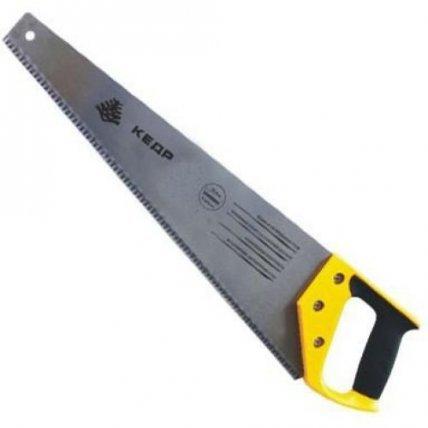 Ножовка по дер. мелкий ЗУБ 3D-заточка каленая  450мм КЕДР