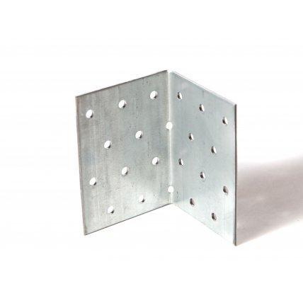 Угол равностор. крепежный  KUR-80*80*80