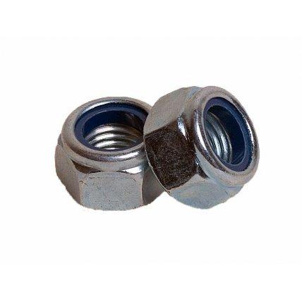 Гайка шестигран. со стопор. кольцом А2 М6 DIN 985