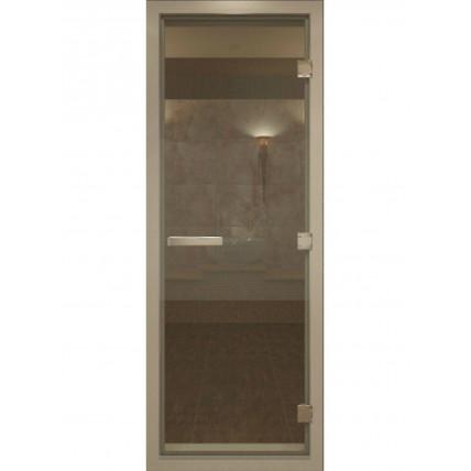 Дверь стекло  БРОНЗА ПРОЗРАЧНАЯ 80*180 см