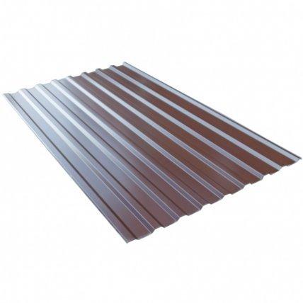 Профнастил С8 1200*2000 0,4мм (бордовый)