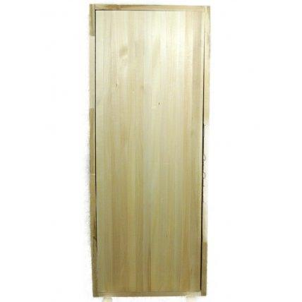 Дверь банная массив 1,7 Гладкая