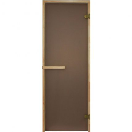 Дверь стекло  БРОНЗА МАТОВАЯ 70*190 см