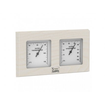 Термогигрометр квадратный 224ТНD SAWO