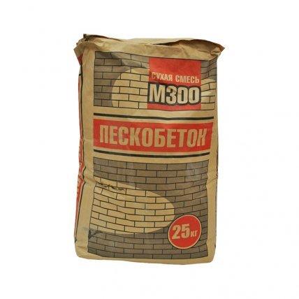 Пескобетон М300  25кг
