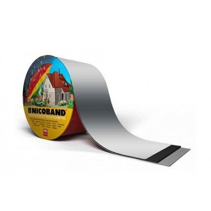 Никобенд Самоклеящаяся герметизирующая лента (серебристый) 3м*5см