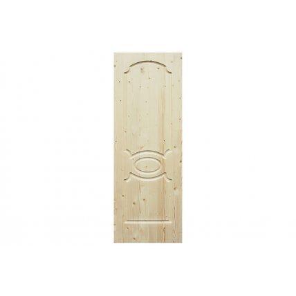 Дверь из массива сосны 600*40*2000 Классик