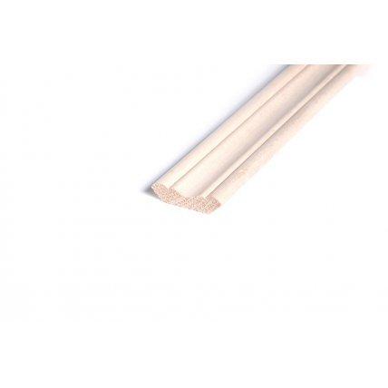 Плинтус половой из липы 2,4м