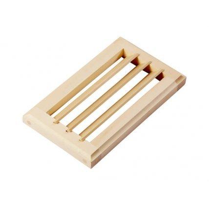 Вентиляционная решетка  25*13 малая , липа (Ч)