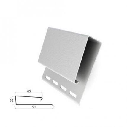 Планка широкая наличник 3,1 GL белый