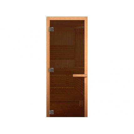 Дверь стекло ХВОЯ/ОЛИВ 70*190 см 716GB/МАГНИТ БРОНЗА