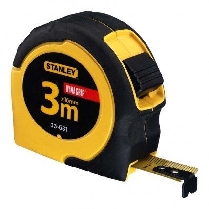 Рулетка  Stanley Grip Tape 3m x 19mm 33559