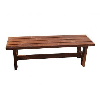 Скамейка термо осина   1,0м