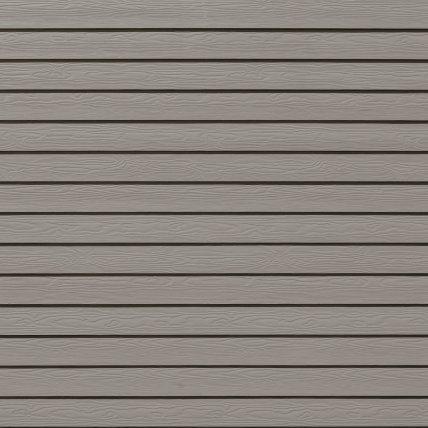 Фиброцементный сайдинг 10*190*3600 мм Серый минерал